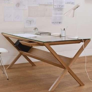 Sleek Storage-Equipped Desks
