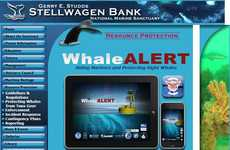 Sensible Ship Safety Apps - WhaleALERT is a Wildlife Conservation Technology That Warns Ships