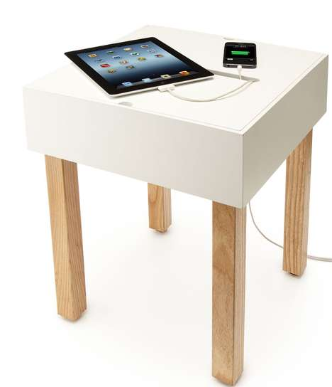 Cord-Concealing Consoles