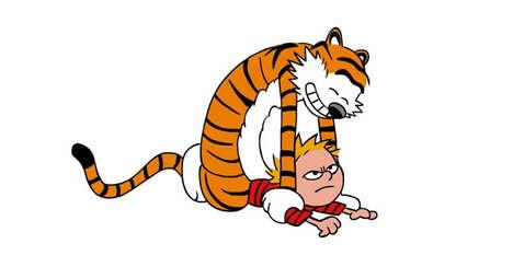 Animated Tiger Pouncing Comics