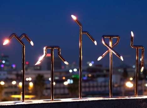 Contemporary Copper Lighting