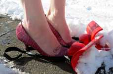 DIY Snow Plow Shoes - Why Shovel the Driveway When You Can Foot Plow the Snow Instead?