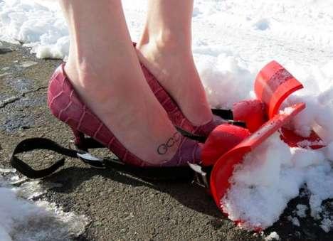 DIY Snow Plow Shoes