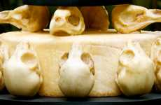 Animal Skull Wedding Cakes
