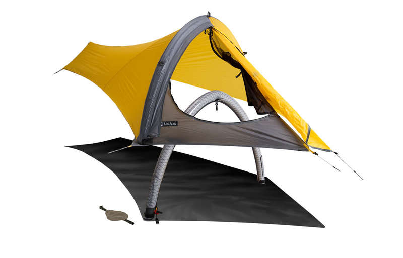 Compact Inflatable Tents
