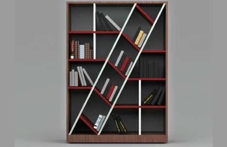The Blabla Bookshelf Incorporates a Singular Diagonal Section