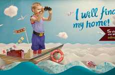Childcare Charity Campaigns - These Ads Show the Hopes and Dreams of Abandoned Children