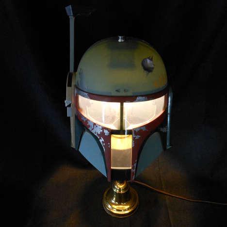 DIY Bounty Hunter Lamps