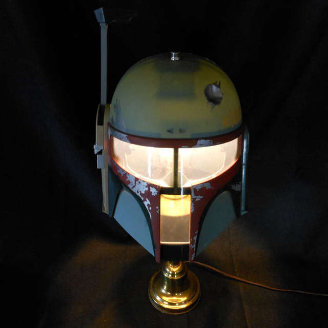 DIY Bounty Hunter Lamps