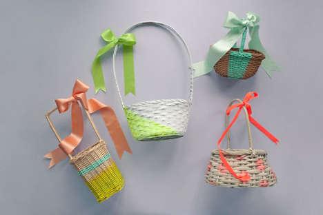 Pretty DIY Easter Baskets