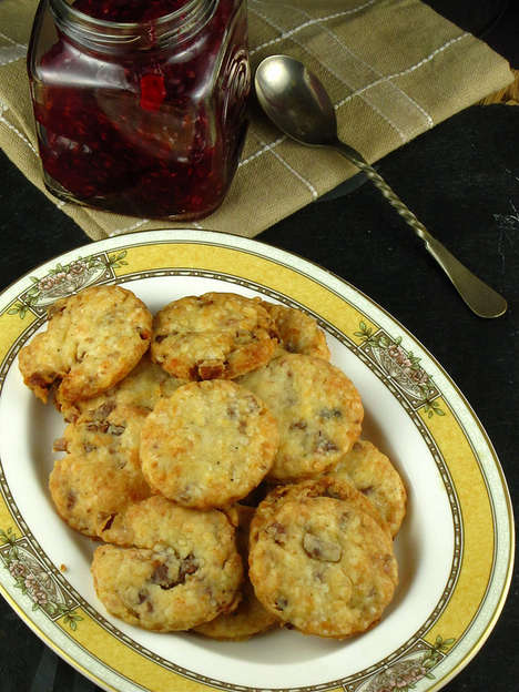 Porky Parmesan Breakfast Cookies