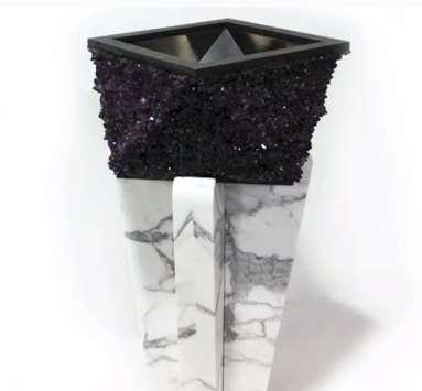 Crystal-Encrusted Sinks