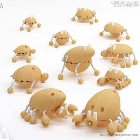 Terrifically Timber Creature Toys