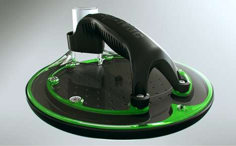 Fluid-Absorbing Hoovers