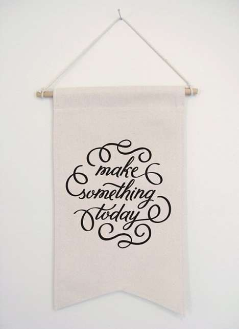 Encouraging Canvas Banners