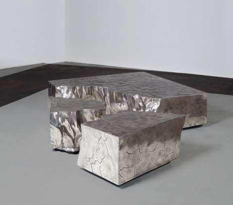 Nature-Inspired Metallic Furniture