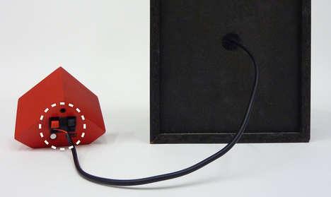 Sinking Cube Speakers