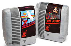 Retro Gamer Pillows - ThinkGeek's NES Cartridge Pillows Will Introduce Gaming to Your Dreams