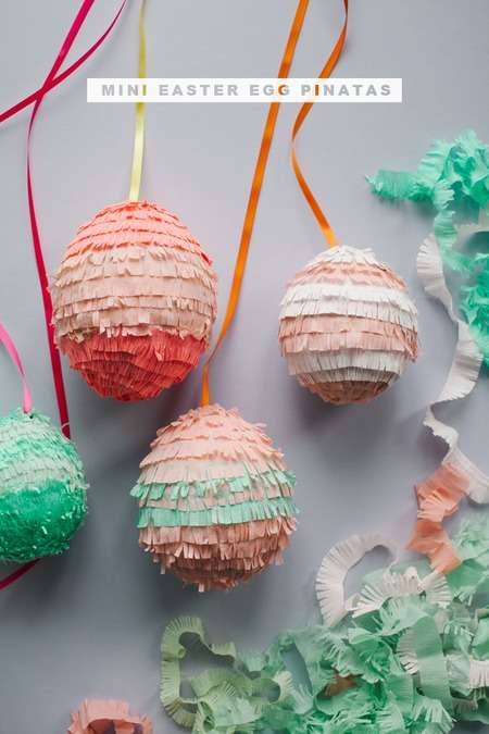 This DIY Easter Decoration from the 'Oh Happy Day' Blog is Adorable