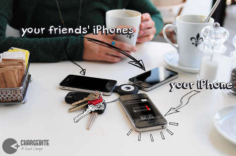 Social Smartphone Chargers