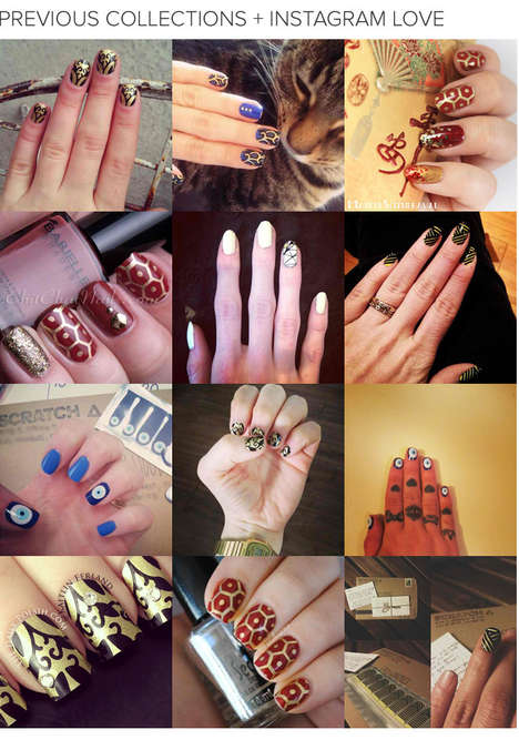 Colorful Nail Wrap Collaborations