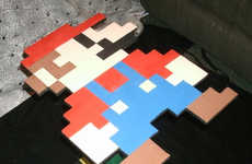 8-Bit Video Game Tables - Rachel Mills Makes Tables Serve as a Super Mario Tribute Piece