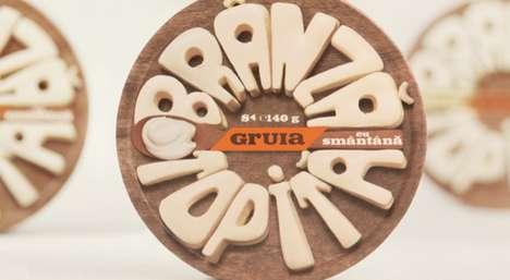 Cheesy Typographic Branding