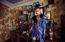 Exotically Ornate Catalogs - The Camilla AW13 Lookbook is Full of Rich and Warm Fashion