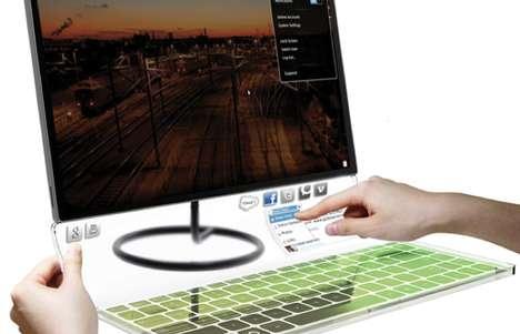 Ultra-Thin Portable Desktops