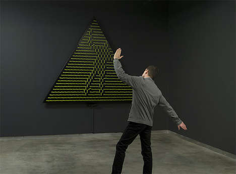 Artistically Interactive Mirrors