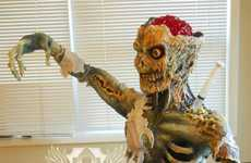 Undead Jello-Brained Desserts - The Zombie Cake by Artisan Cake Company is Incredibly Life-Like
