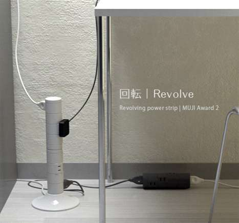 Revolving Power Strips