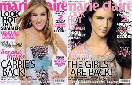 Carrie or Charlotte? for Marie Claire