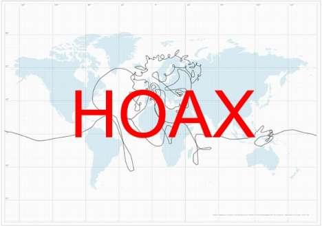 Mega Hoaxes - Biggest Drawing is a Fake