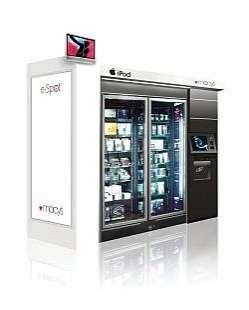 iPod Vending in Department Stores