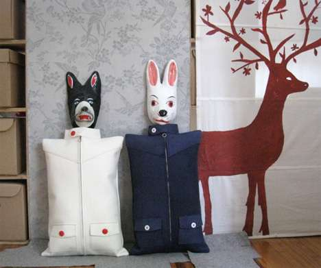 Recycled Clothes Cushions