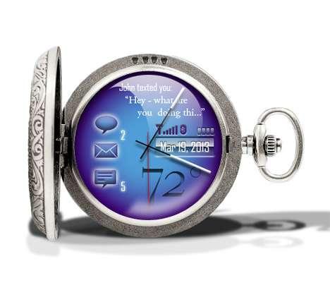 OLED Pocket Watches