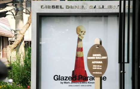 Fashion Art Installations - Diesel's Glazed Paradise