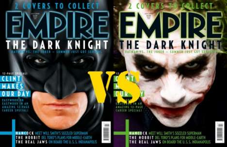 Magazine Cover Battles - Batman vs Joker on Empire
