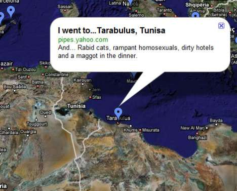 Google Maps to Share Horror Stories