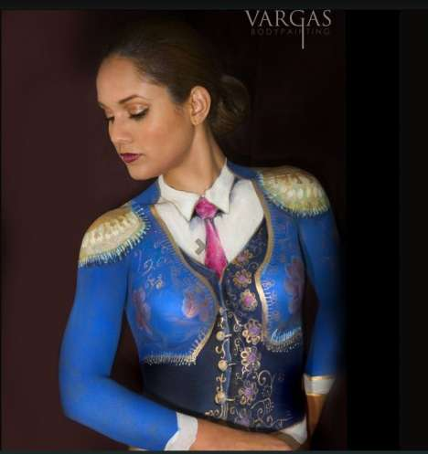Commercial Body Painting - John Vargas' Work
