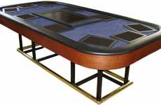 Console Poker Tables - X10