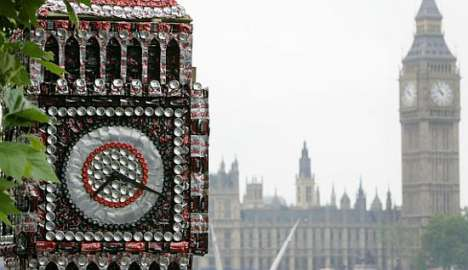 Recycled Can Landmarks