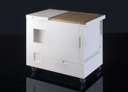 Kitchens in Boxes - MiniKitchen by Boffi