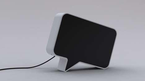 Talking Cloud Speakers