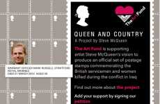 Soldier Support Stamps - UK Post to Honour Iraq Soldiers