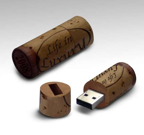 Wine Stopper USB - Memory Storage for Oenophiles