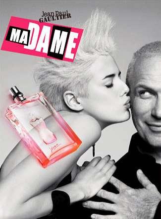 Androgynous Perfume Models