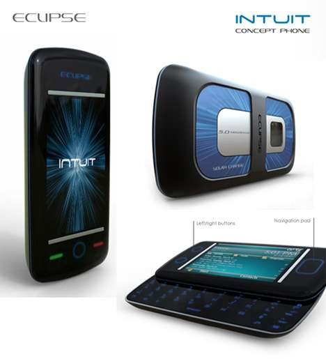 Solar Skin Cell Phones - Eclipse Intuit