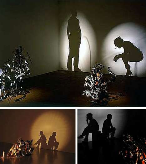 Recycled Garbage Projections